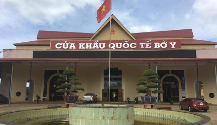 Cửa khẩu Bờ Y tỉnh KonTum Việt Nam