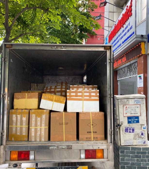 Công ty vận chuyển hàng từ Việt Nam đi Thái Lan bằng đường bộ uy tín